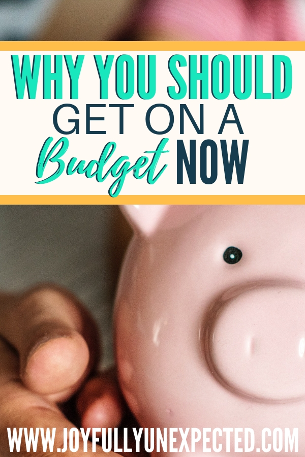 why you should get on a budget now